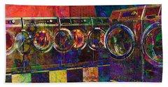 Secret Life Of Laundromats Beach Sheet