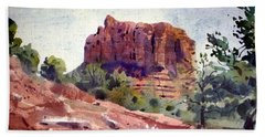 Sedona Butte Beach Sheet