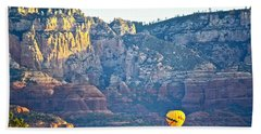 Sedona Morning  Beach Towel