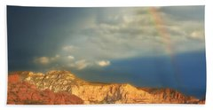 Sedona Rainbow 2 Beach Towel