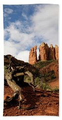 Sedona Red Rocks No. 01 Beach Towel