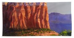 Sedona Red Rocks Beach Towel