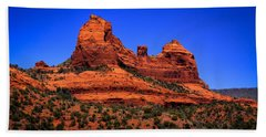 Sedona Rock Formations Beach Towel