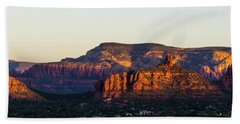 Sedona Sunrise Beach Towel