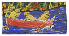 See You On The Other Side Beach Towel by Jeffrey Koss