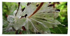 Seed Pods Beach Towel