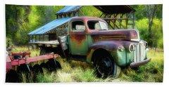 Seen Better Days - Ford Farm Truck Beach Towel