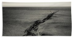 Seilebost Sand Tracks Beach Towel