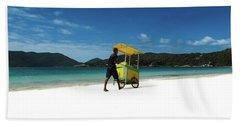 Selling Corn Beach Towel by Cesar Vieira