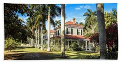Seminole Lodge Beach Towel