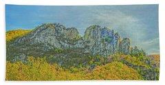 Seneca Rock West Virginia Beach Sheet