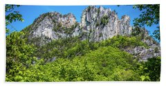 Seneca Rocks Beach Towel