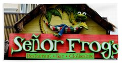Senor Frogs Beach Sheet