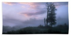 Beach Towel featuring the photograph Sentinels In The Valley by Dan Jurak