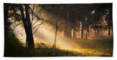 September Impressions Beach Towel
