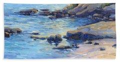 September Light / Laguna Beach Beach Towel
