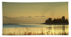 September Morn Beach Towel by Randy Hall