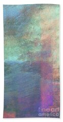 Beach Towel featuring the mixed media Ser. 1 #04 by Writermore Arts