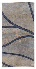 Beach Towel featuring the mixed media Ser. 2 #01 by Writermore Arts