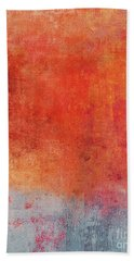 Beach Towel featuring the mixed media Ser. One #01 by Writermore Arts