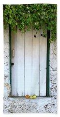 Serendipitous Door Beach Sheet