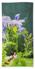 Serene Purple Beach Towel