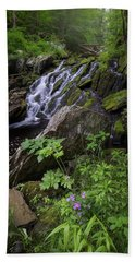 Beach Towel featuring the photograph Serene Solitude by Bill Wakeley
