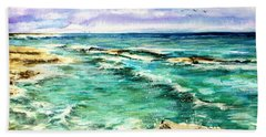 Serenity 4 Beach Towel