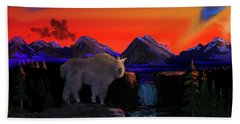 Serenity At Sunrise Beach Towel by J Griff Griffin