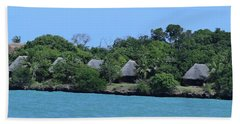 Serenity - Chale Island Kenya Africa Beach Towel