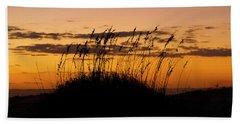 Serenity Point Sunset Beach Towel