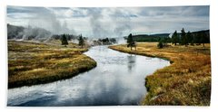 Beach Towel featuring the photograph Serenity by Scott Read