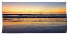 Serenity Sunset Beach Towel