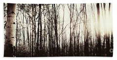 Series Silent Woods 3 Beach Towel