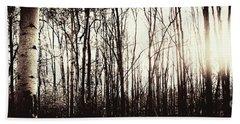 Series Silent Woods 3 Beach Sheet