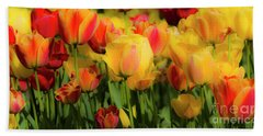 Beach Towel featuring the photograph Seriously Spring by Wendy Wilton