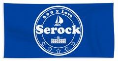 Serock T-shirt For 600 Years Anninversary Beach Towel