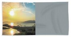 Sestri Levante Baia Delle Favole Beach Towel