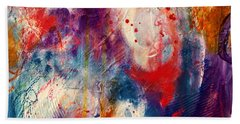 Beach Towel featuring the painting Set Me Free by Tracy Bonin