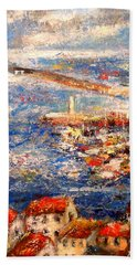 Sete Port France Beach Towel