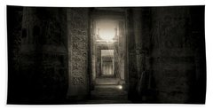 Seti I Temple Abydos Beach Towel