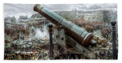 Sevastopol Cannon 1855 Beach Towel