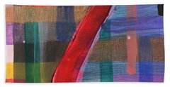Seven Of Plaid Beach Towel