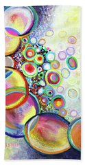 Seven Truths Beach Towel by Polly Castor