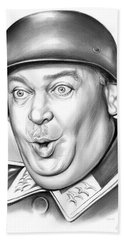 Sgt Schultz Beach Towel