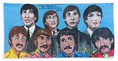 Sgt.pepper's Lonely Hearts Club Band Beach Sheet