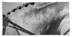Shades Of Grey Fine Art Horse Photography Beach Towel