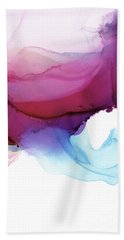 Shades Of Purple Beach Towel