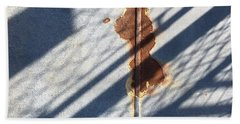 Shadow On Seam Beach Sheet