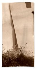 Shadows And Light In Santa Fe Beach Towel